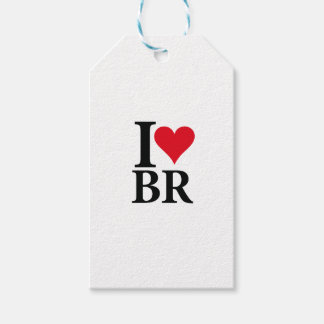 I Love Brazil BR Edition Gift Tags