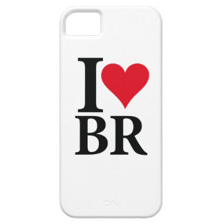 I Love Brazil BR Edition iPhone 5 Case