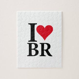 I Love Brazil BR Edition Jigsaw Puzzle