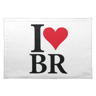 I Love Brazil BR Edition Placemat