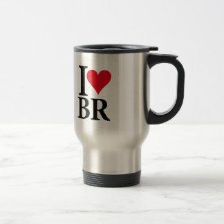 I Love Brazil BR Edition Travel Mug