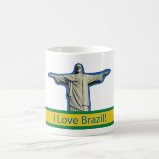 I love Brazil Coffee Mug