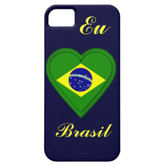 I love Brazil - Eu amo Brasil - in Portugese Case For The iPhone 5