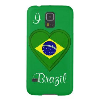 I love Brazil Galaxy S5 Cover