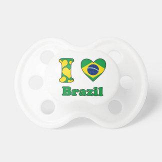 I love Brazil Pacifier