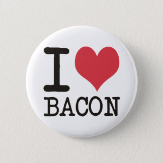 I LOVE Bread - Bacon - Bananas Products! 2 Inch Round Button