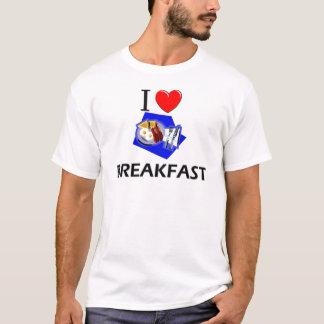 I Love Breakfast T-Shirt