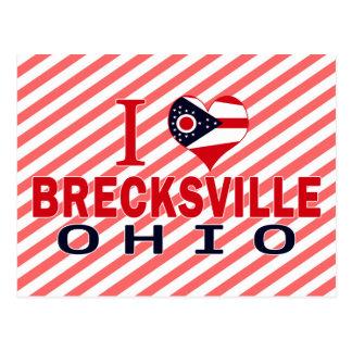 I love Brecksville, Ohio Postcard