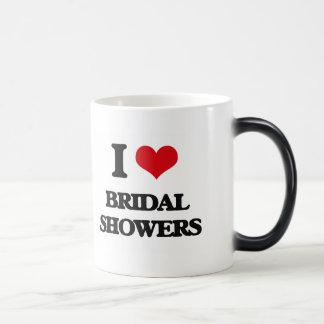I Love Bridal Showers Mug
