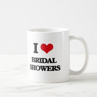 I Love Bridal Showers Coffee Mug