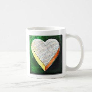 I Love Brie Cheese Classic White Coffee Mug