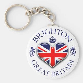 I Love Brighton Keychain