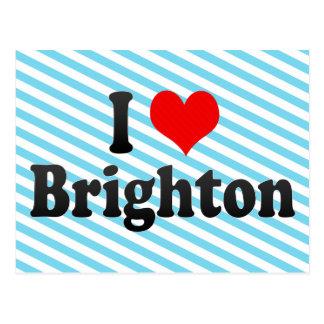 I Love Brighton, United Kingdom Postcard