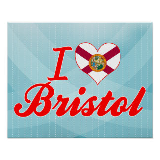I Love Bristol, Florida Poster