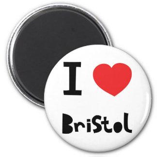 I love Bristol Magnet