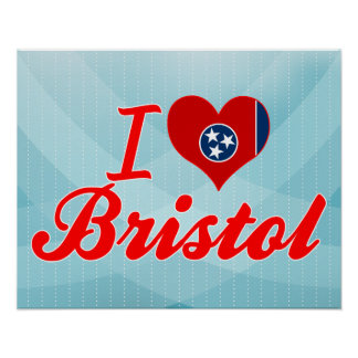 I Love Bristol, Tennessee Poster