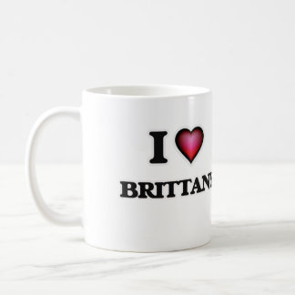 I Love Brittany Coffee Mug