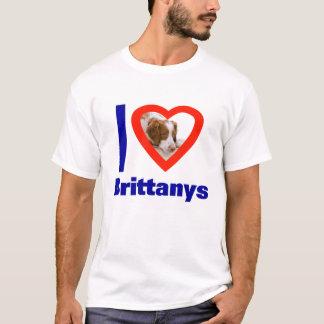 I Love Brittanys T-Shirt