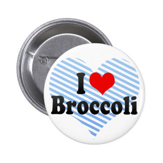 I Love Broccoli Pins