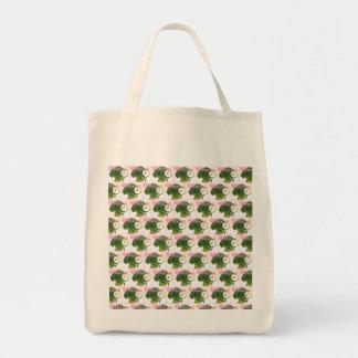 I love Broccoli tote Grocery Tote Bag