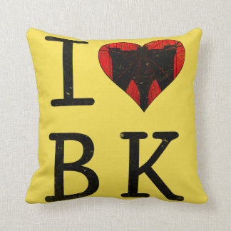 I Love Brooklyn, BK New York Cushion