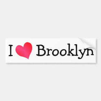 I Love Brooklyn Bumper Sticker