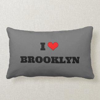 I Love Brooklyn Lumbar Pillow