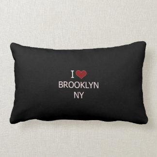 I Love Brooklyn, NY Lumbar Pillow