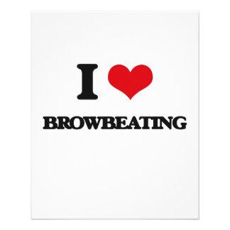 I Love Browbeating Flyer