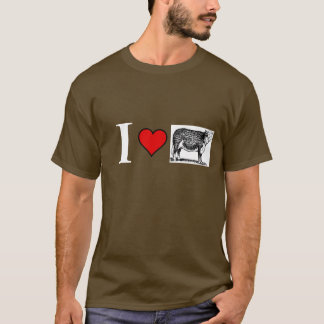 I love brown cows T-Shirt