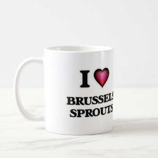 I Love Brussels Sprouts Coffee Mug
