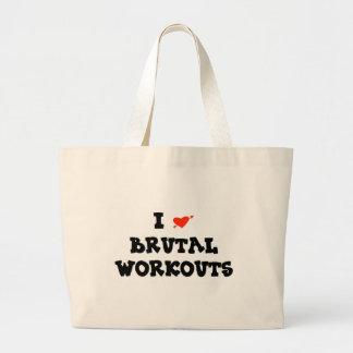 I LOVE BRUTAL WORKOUTS BAG