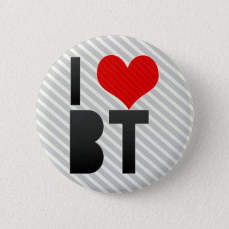 I Love BT 2 Inch Round Button