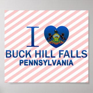 I Love Buck Hill Falls, PA Poster