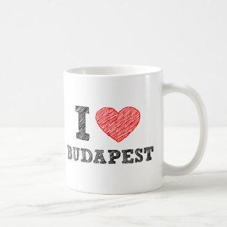 I Love Budapest Coffee Mug