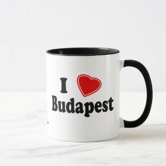 I Love Budapest Mug
