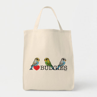 I Love Budgies