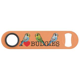 I Love Budgies Bar Key