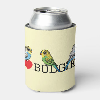 I Love Budgies Can Cooler