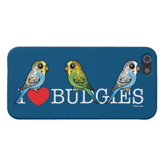I Love Budgies Cover For iPhone 5/5S