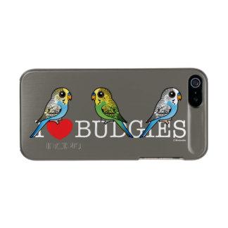 I Love Budgies Incipio Feather® Shine iPhone 5 Case