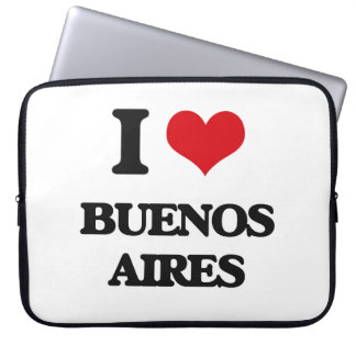 I love Buenos Aires Computer Sleeve
