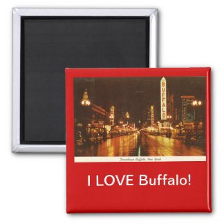 I LOVE Buffalo! Magnet