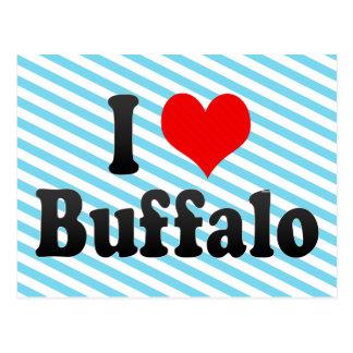 I Love Buffalo, United States Postcard