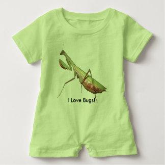 I Love Bugs! Baby Romper