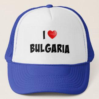 """I Love Bulgaria"" custom design Trucker Hat"