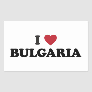 I Love Bulgaria Sticker