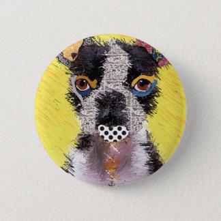 I love bulldog 2 inch round button