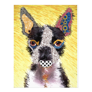 I love bulldog letterhead
