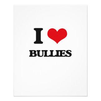 I Love Bullies Flyer